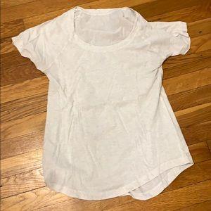 Lululemon scoop neck t shirt